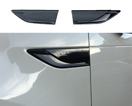 LAND ROVER DISCOVERY 5 2017 ON - DYNAMIC SIDE VENT COVERS GRILLES - BLACK