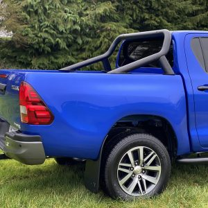 TOYOTA HILUX MK8 2016 ON – DOUBLE CAB STX S/S ROLL BAR – BLACK