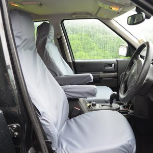 LAND ROVER DISCOVERY 3 4 FRONT SEAT COVERS – GREY