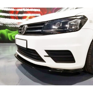 VW Caddy front splitter spoiler