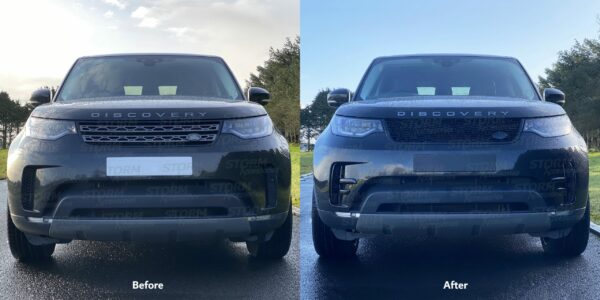 Land rover Discovery 5 Dynamic Grille upgrade