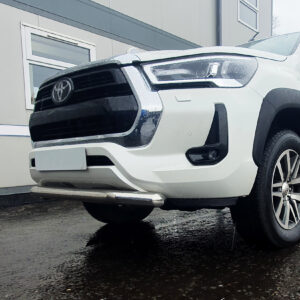 Hilux Stainless Steel Spoiler Bar