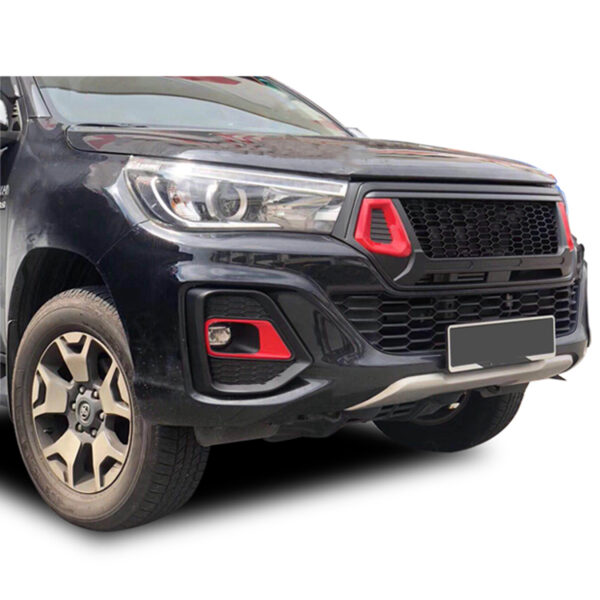 Toyota Hilux Front Bumper Upgrade