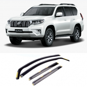 TOYOTA LAND CRUISER J150 5DR 2009 ON STX INTERNAL WIND DEFLECTORS 4PCS SET