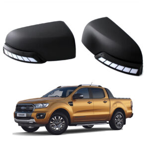 Ford Ranger Wing Mirror Caps with LEDs