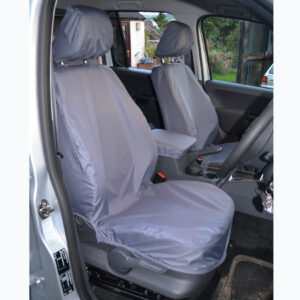 VW AMAROK 2011 ON - FRONT SEAT COVERS - GREY