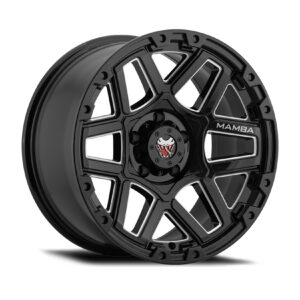 Mamba M23 - Gloss Black Alloys