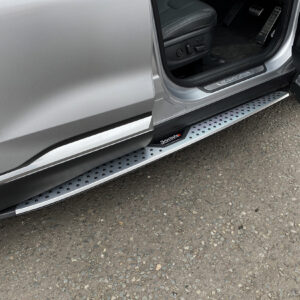 HYUNDAI SANTA FE 2019 SIDE STEPS RUNNING BOARDS -PAIR