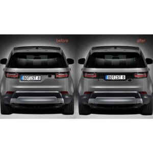 LAND ROVER DISCOVERY 5 - REAR TAILGATE NUMBER PLATE MOULDINGS