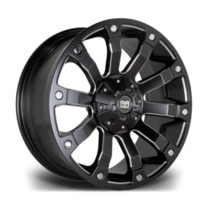 RIVIERA XTREME RX500 BLACK POLISHED – 20 INCH ALLOYS – SET OF 4 – 6X114.3