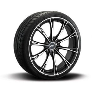 ABT GR20 GLOSS BLACK – COMPLETE WHEELS – SET OF 4 – 5X112