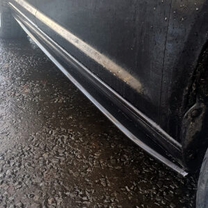 vw caddy side skirts splitter