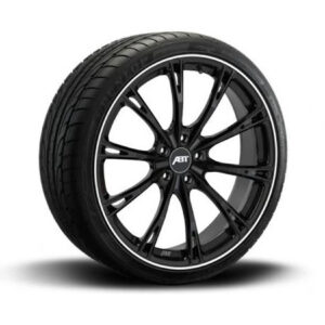 ABT GR22 GLOSS BLACK – COMPLETE WHEELS – SET OF 4 – 5X112
