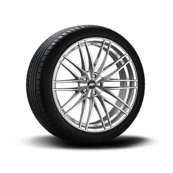 ABT HIGH PERFORMANCE HR23 COMPLETE WHEELS – SHADOW SILVER – SET OF 4 – 5X112