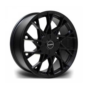 RIVIERA RV197 MATTE BLACK – 22 INCH ALLOYS – SET OF 4 – 5X120