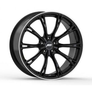 ABT GR22 GLOSS BLACK WIDE BODY SET OF 4 5X112
