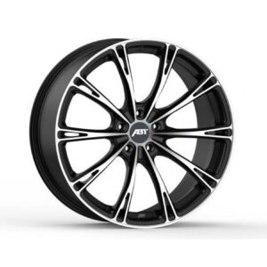 ABT GR22 SPORT MATTE BLACK WIDE BODY SET OF 4 5X112