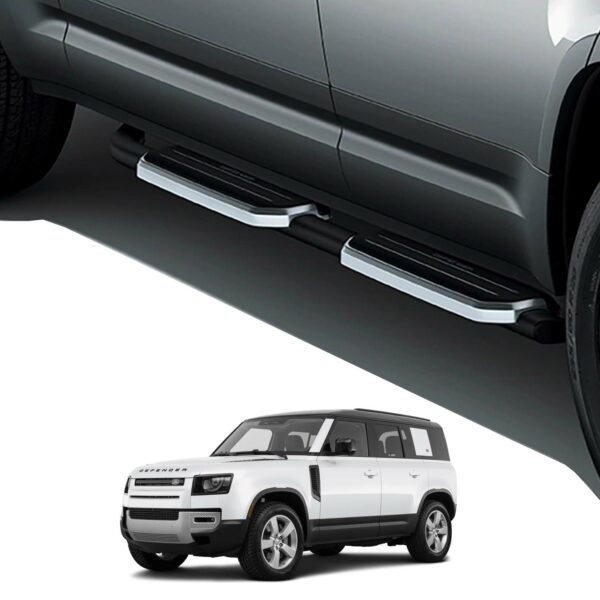 LAND ROVER DEFENDER 110 L663 2020 ON OE STYLE RUNNING BOARDS - PAIR