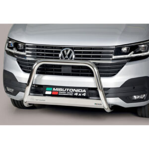 VW TRANSPORTER T6.1 2019 on MISUTONIDA EU APPROVED FRONT A-BAR – 63MM