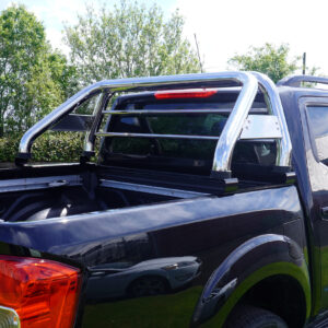 TOYOTA HILUX MK8 2016 ON STAINLESS STEEL SX ROLL BAR