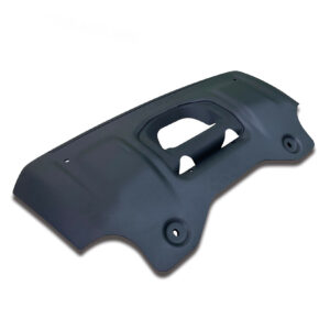 LAND ROVER DEFENDER L663 90 & 110 2020 ON OE STYLE FRONT SKID PLATE – IN BLACK
