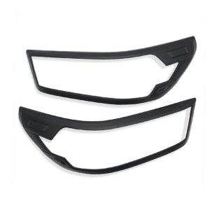 TOYOTA HILUX 2021 ON STX HEAD LIGHT GUARDS – IN MATTE BLACK – PAIR